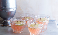 Pretty in Pink: Wallflower's Pisco Punch