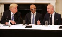 Trump Defends Retailers Threatened by Amazon