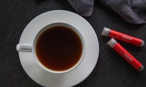 Sudden Coffee's Fore! Blend: Instant Coffee, Complex and Peachy