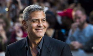 George Clooney Praises Trump for Progress on North Korea