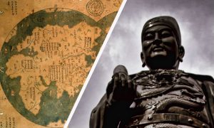 The Chinese may have beaten the famous voyage of Columbus by 70 years