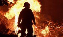 Fierce Winds to Intensify as Firefighters Battle California Wildfire