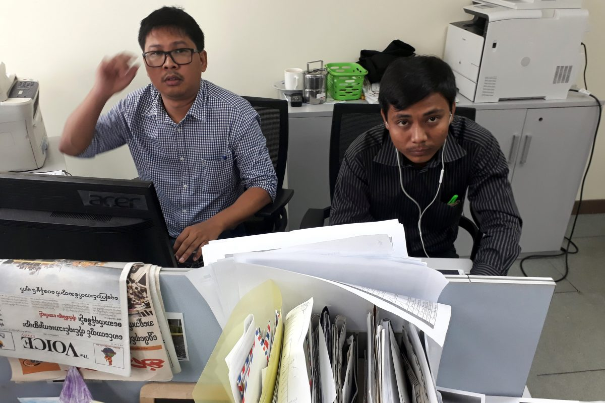 Myanmar authorities charge Reuters journalists with obtaining state secrets