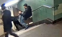Report: Man Who Kicked Woman Down Metro Stairs Beaten up in Prison