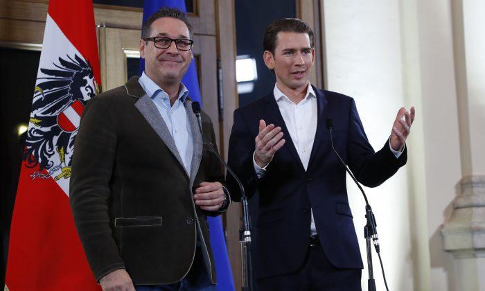 Austrian far-right enters government