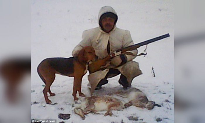 Russian Man Shot in Abdomen After Dog Steps on Gun Trigger