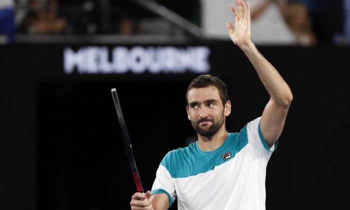 Federer blows away Korean giant killer for Aussie Open final