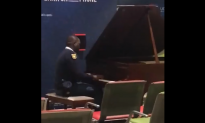 Security Guard Sits Behind Piano in Airport at 2 am—And Troubles Melt Away