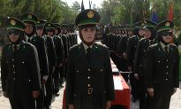 Female Police Officers Help Security on Afghan Front Line