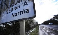 Guerrilla Artist Adds Fictional Names to Road Signs