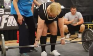 97-year-old said she's a weightlifter, watch what happens when she picks up the bar