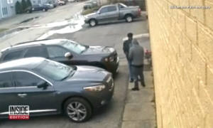 80-year-old man was being robbed at gun point, but what he yells—only 85-year-old man hears him