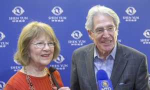 Managing Partner Finds Shen Yun Music Very Soothing