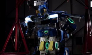 This looks like a giant robot. But what it transforms into—it's super cool
