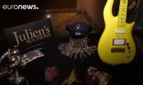 Prince Memorabilia Goes on Sale in New York