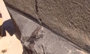 Man finds mysterious markings in Egypt