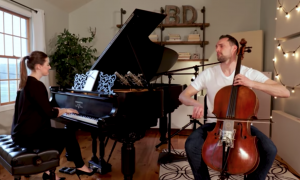 Duo's cover of famous song is truly enchanting to hear