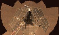 Massive Martian Dust Storm Threatens Plucky NASA Rover