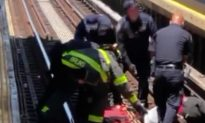 Man Under the Influence Falls Onto Train Tracks in Brooklyn