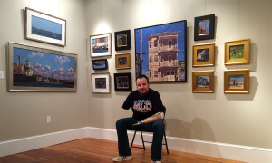 Army vet who lost both arms in the line of duty has trained himself to paint masterful works