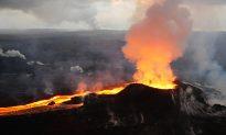 Kilauea Eruption Adding Area to Hawaii's Big Island