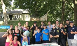 Police force shows up for little girl after no one attends her birthday party